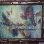 Gil Petroff framed original