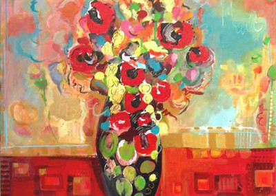 Passion Floral by Columbia Artist Jamie Blackburn