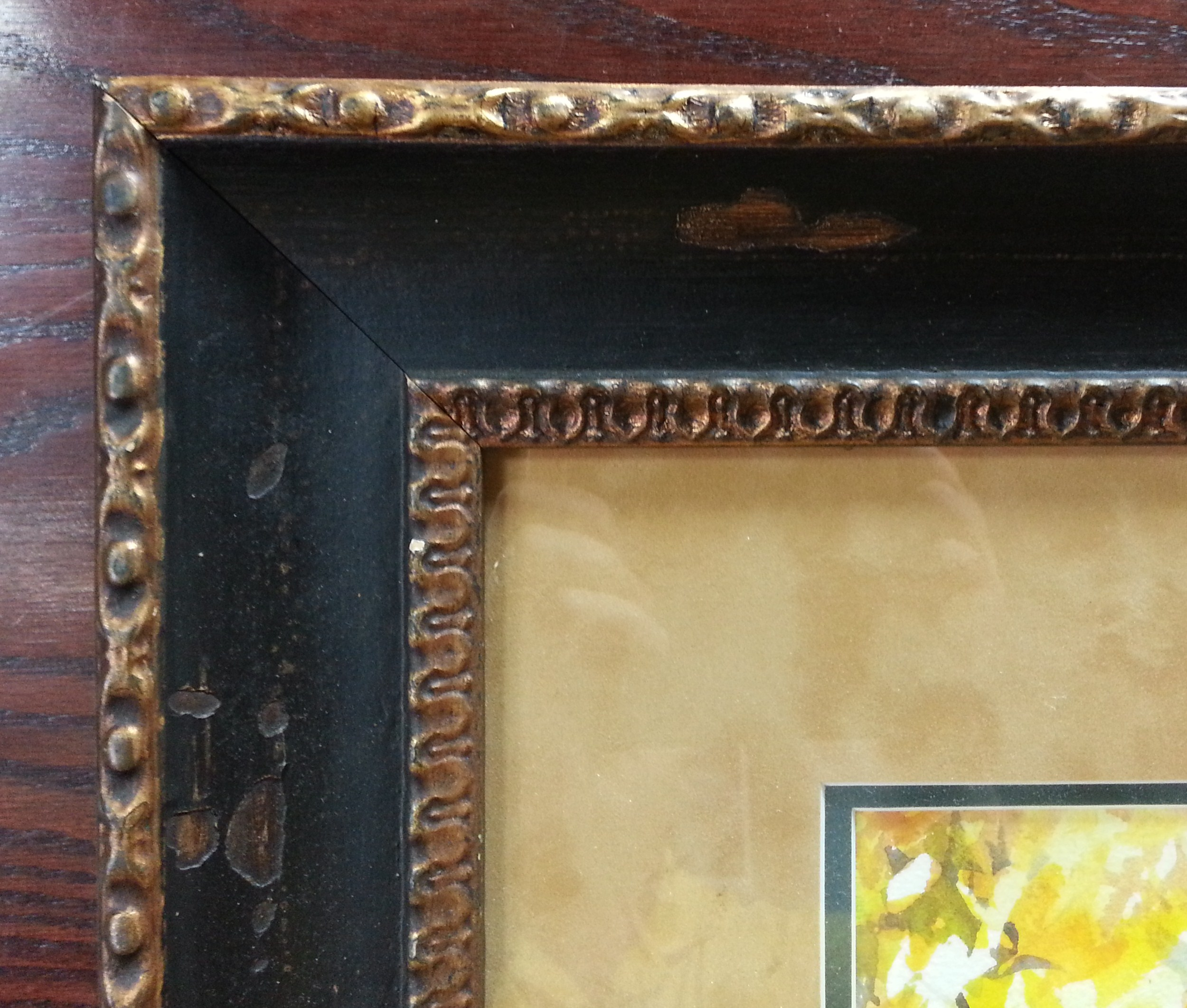 Framed Original Of The Day Adirondack Chairs By