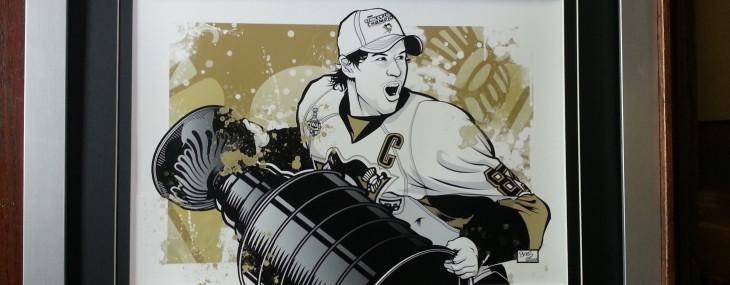 Framed Sports Memorabilia of the Day!