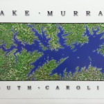 Lake Murray Satellite Map