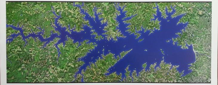 Lake Murray Satellite Map!