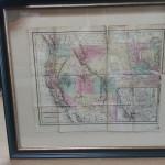 nw map framed