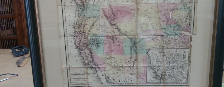 Antique Maps from 1883 and 1865