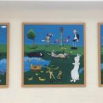 storybook triptych by scotty peek