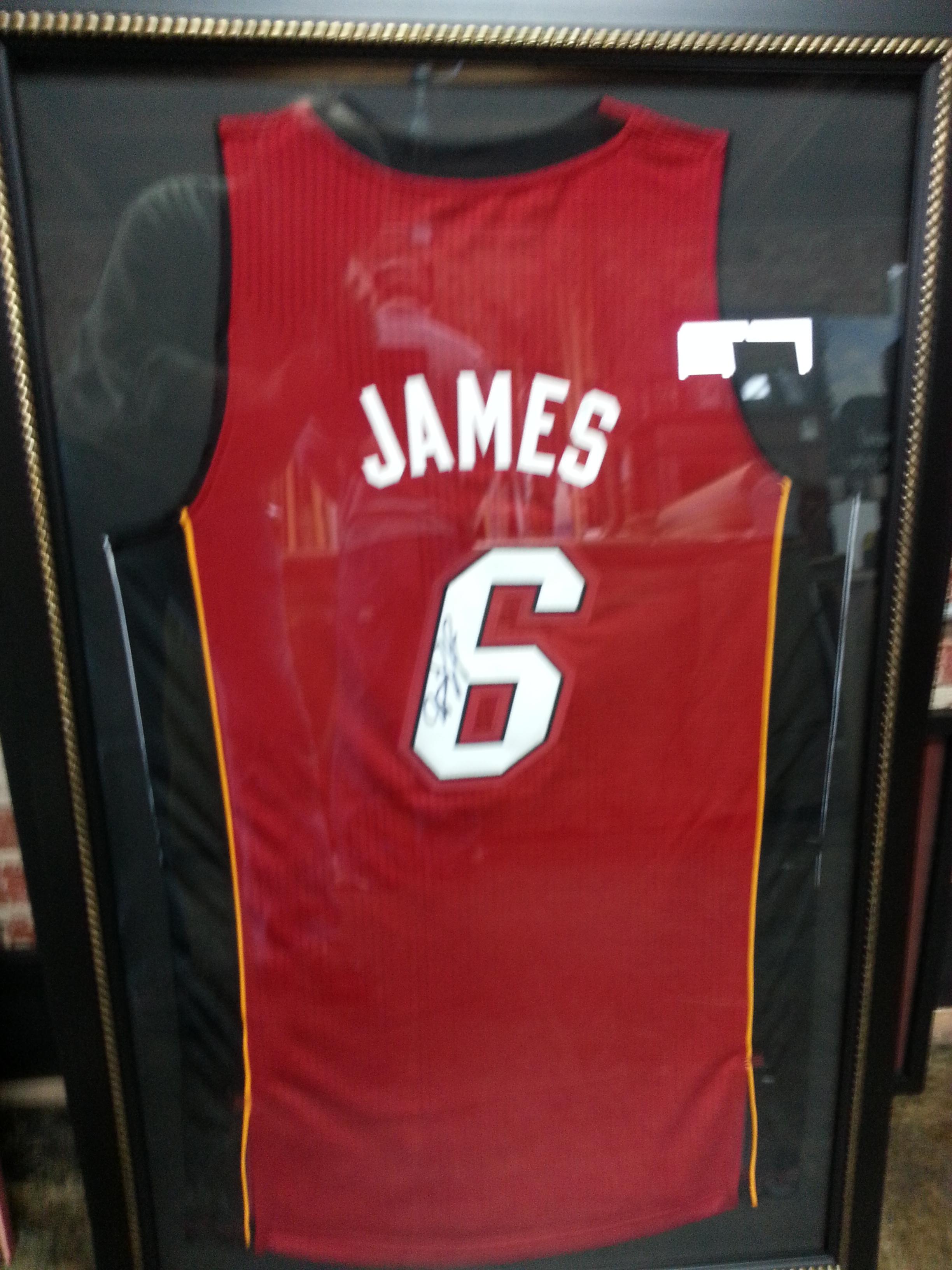Get Jersey Framed