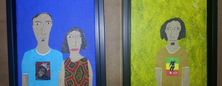 Floater Frames on Folk Art!