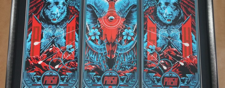Phish Triptych with Tickets!