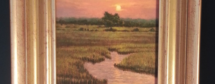 Marsh Landscape by Michael Story