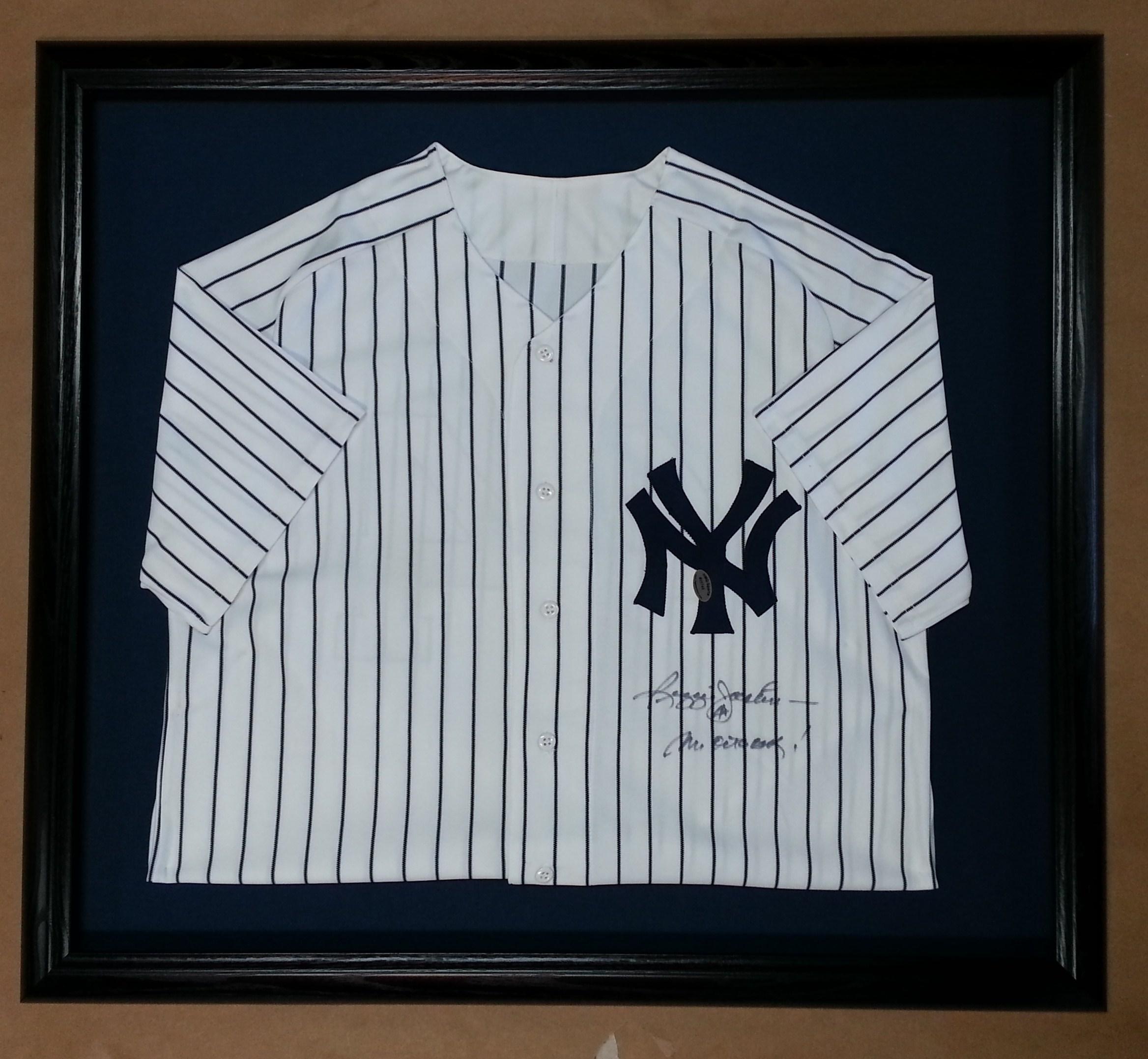 framed baseball jersey – Columbia Frame Shop