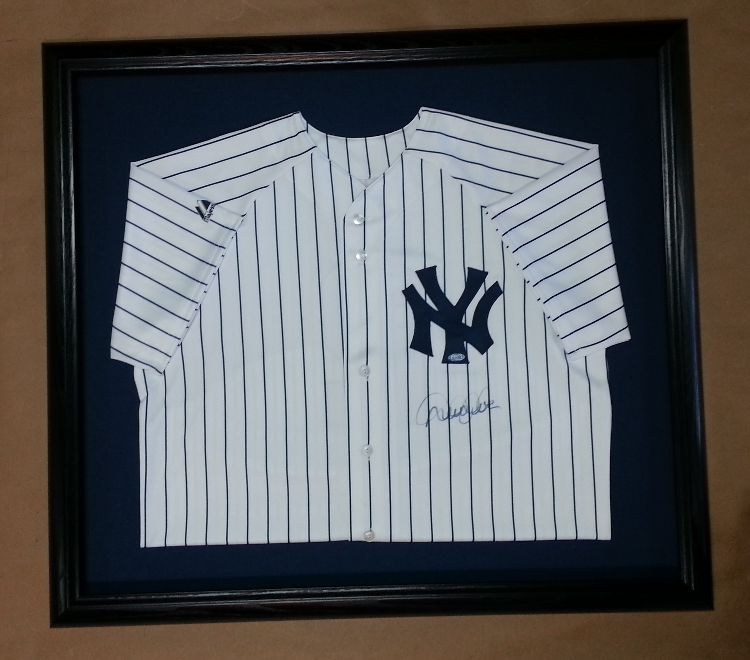 Signed New York Yankees Jerseys! – Columbia Frame Shop