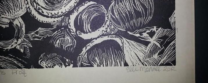 Linoleum Cut!