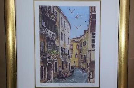 Nice Pair of Venetian Watercolours
