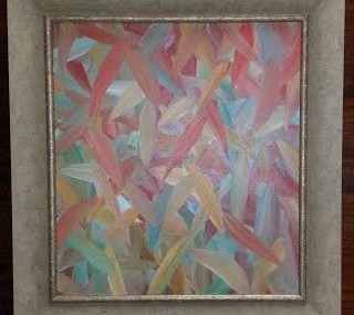 Cool Frame on Abstract Oil
