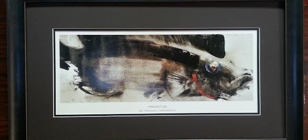 Dynamic Fish Print by Randall McKissick!