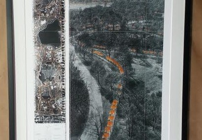"Christo and Jeanne-Claude signed ""The Gates"" Poster!"
