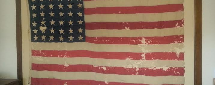 36 Star USA Flag!  Very Rare (and Very Large!)