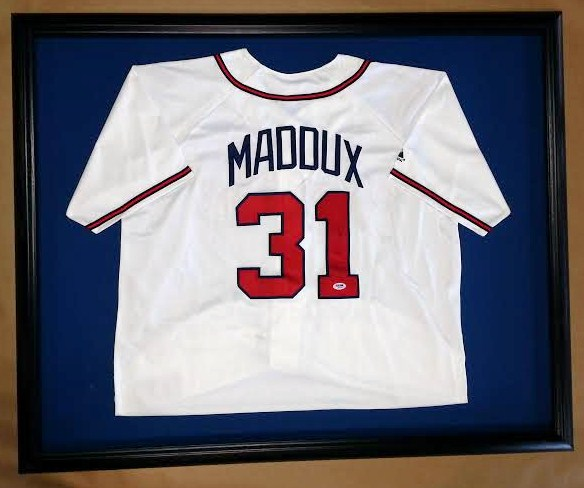 framed baseball jersey – Columbia Frame Shop