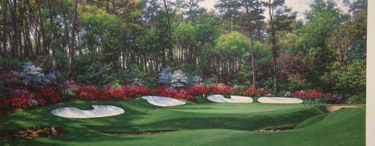 13th at Augusta!  Beautiful!