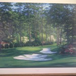 The Tenth at Augusta - print