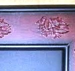gamecock frame detail