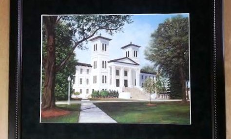 Wofford College Print!