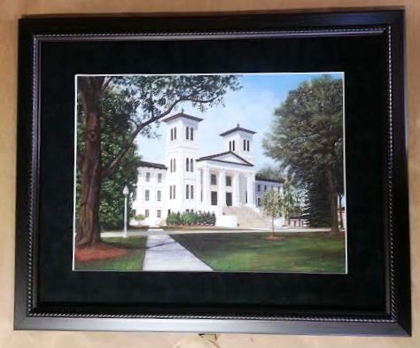 Wofford College Print Columbia Frame Shop