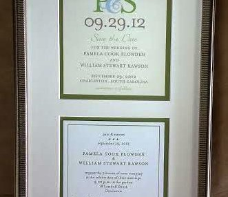 Lovely Wedding Invitation and Announcement