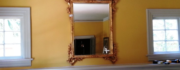 Mirror Installation (with 1″ to spare!)
