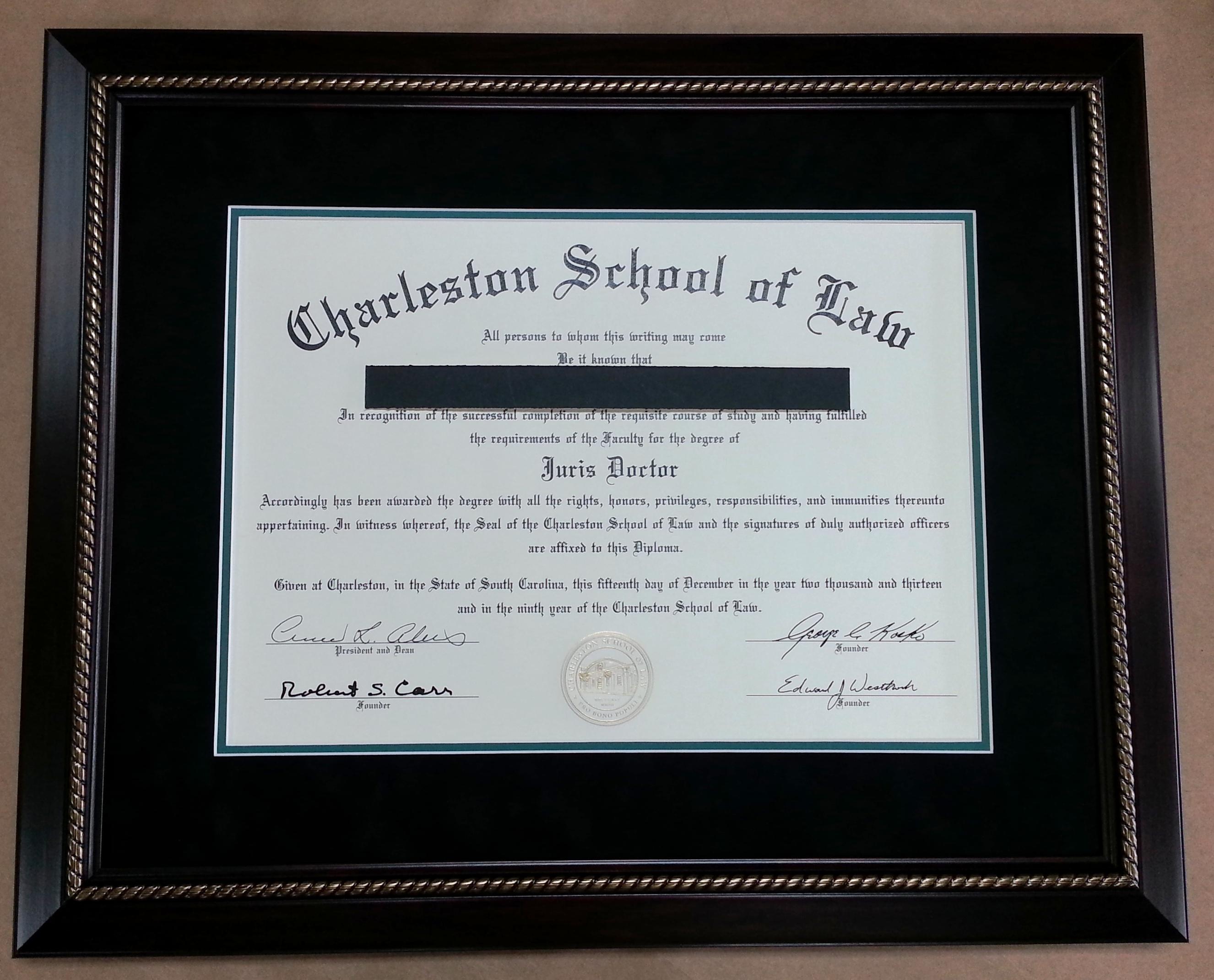 clemson university lithograph print custom diploma frames certificate framing success
