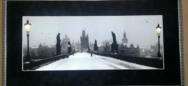 Charles Bridge in Prague!  Fabulous!