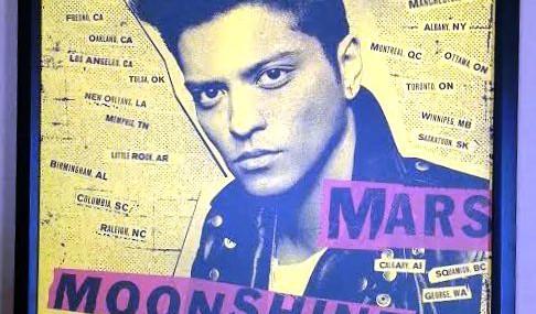 Bruno Mars Poster!