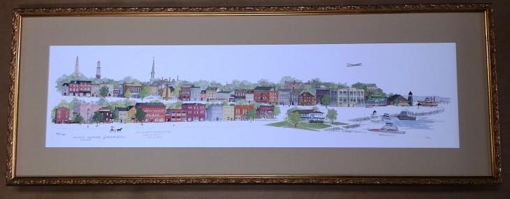 Framed Panoramic Print!