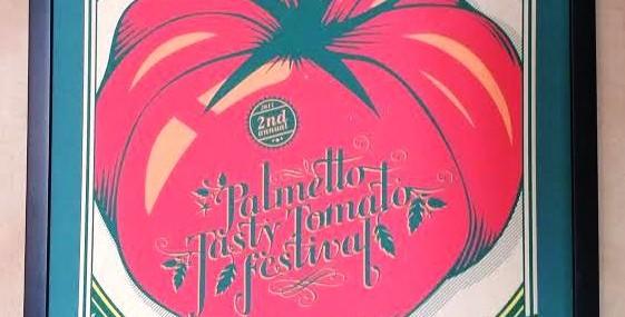 Tasty Tomato Festival Poster!