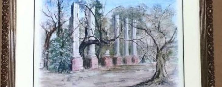 Framed Print of Millwood Ruins!