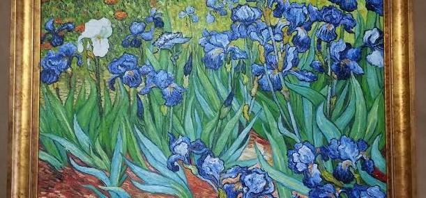 Framed Oil (copy) Van Gogh!