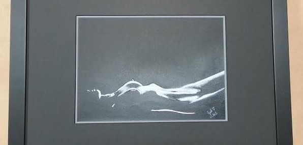 Framed Contemporary Nude!