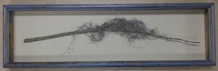 Framed Tree Limb!  (You Read That Correctly) MADE in the USA