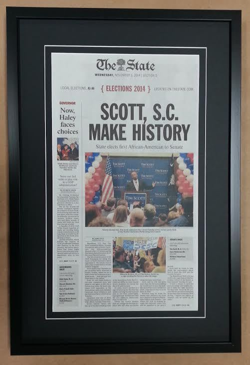Shop Framed – Frame Columbia Articles Newspaper