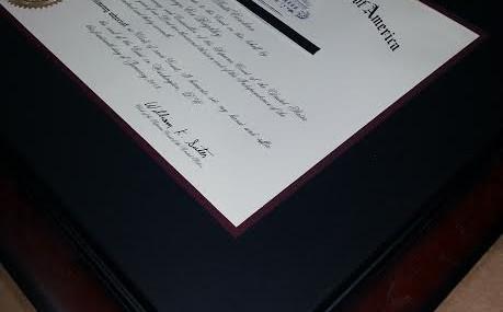 Supreme Court Certificate