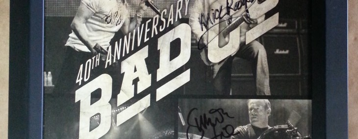 Framed Bad Company Poster! Autographed!