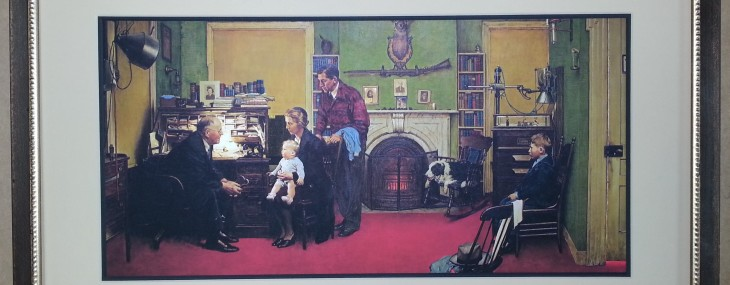 Norman Rockwell Poster!