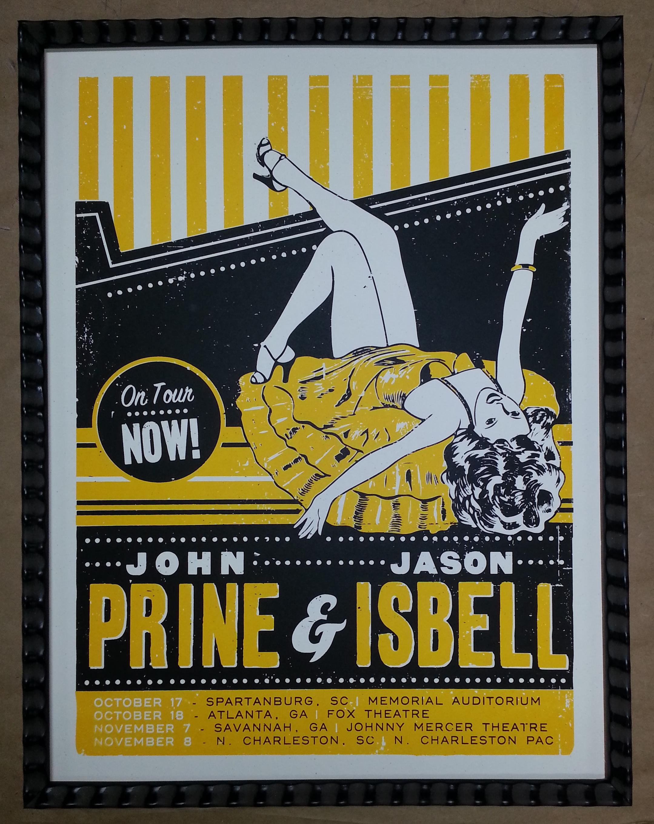 Frame John Prine Jason Isbell Concert Poster! – Columbia Frame Shop