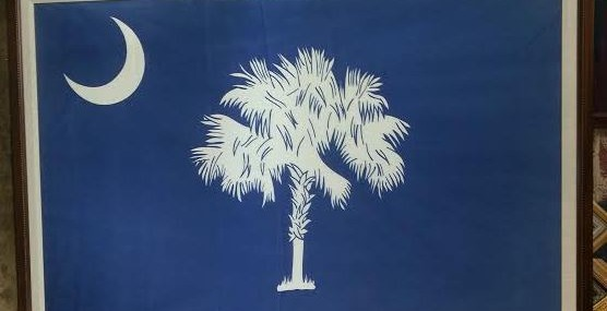 Large South Carolina Flag!