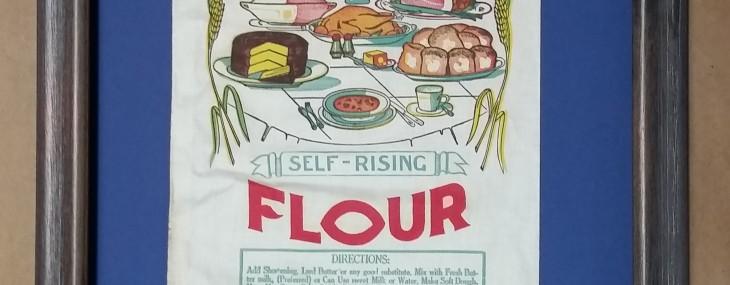 Framed Flour Sack!  (That's Right…)