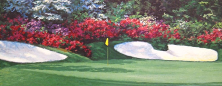 #13 at Augusta! By Larry Dyke