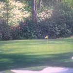 The Tenth at Augusta - detail