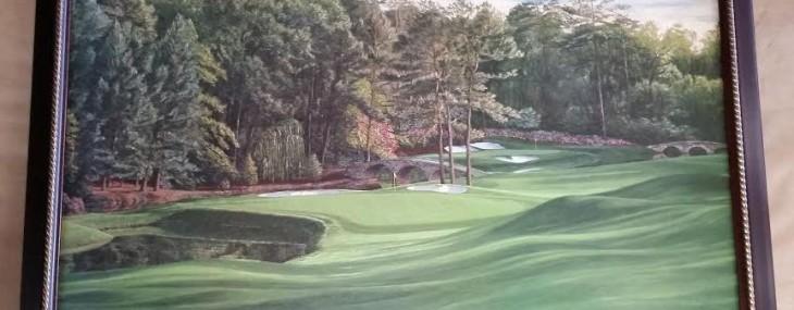 "The 13th Hole, ""Azalea"", Par 5, 485 Yards, Augusta National Golf Club, Augusta, Georgia"