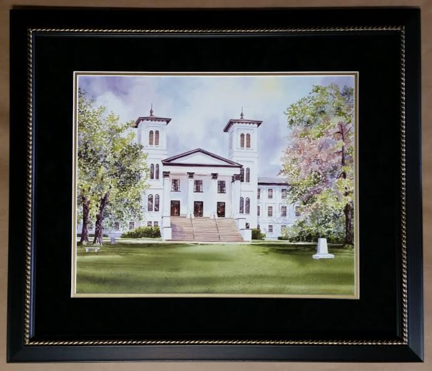 Wofford College – Columbia Frame Shop