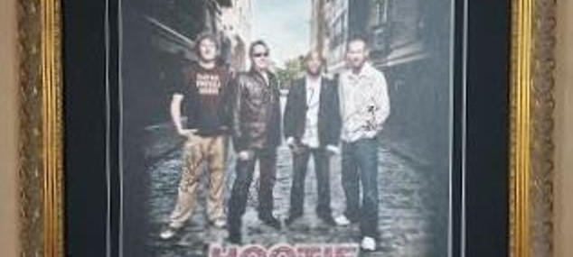 Framed Concert Poster!